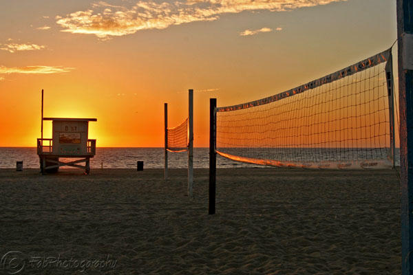 Order A Beautiful Print Golden Volleyball Nets In Hermosa Beach